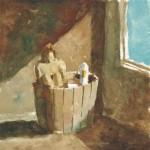 アヒルと風呂に / In the bath with a duck