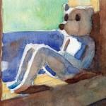 窓辺のクマさん / Bear by the window