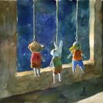 月明かりでマッタリ / Feel good in the moonlight