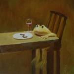ミミズにはワインだな / I prefer wine for earthworm